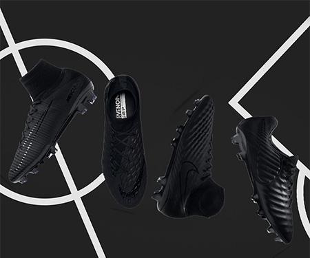 Academy Pack 2017: Nike lança chuteiras pretas para seus principais modelos