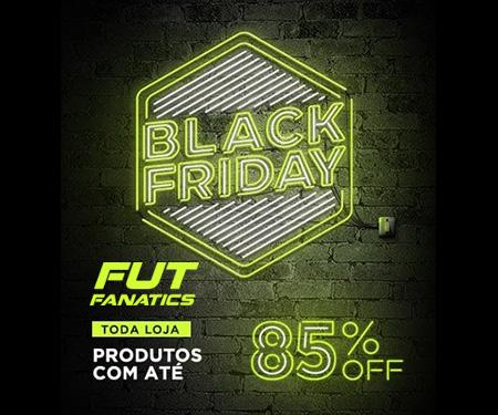 Black Friday Fut Fanatics: Até 85% de desconto