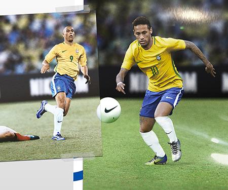 Mercurial Puro Fenomeno: uma homenagem a Ronaldo e Neymar Jr