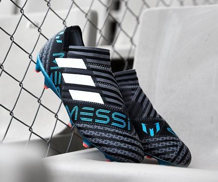 "Adidas apresenta Nemeziz Messi do pack ""Cold Blooded"""