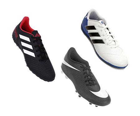 Chuteiras Adidas e Nike por até R$ 169,99 na Netshoes
