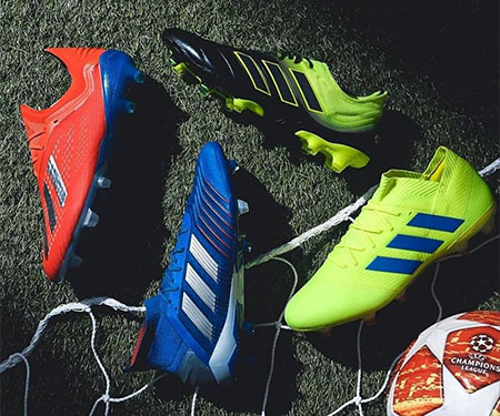 Exhibit Pack: Novas cores para as chuteiras da Adidas