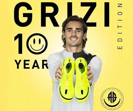 """""""Grizi 10 Year Edition"""": PUMA celebra os 10 anos de carreira de Antoine Griezmann"""