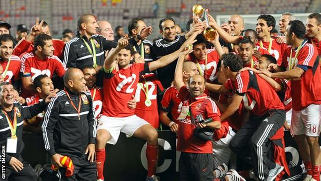 O Al Ahly se sagrou campeão africano 2012