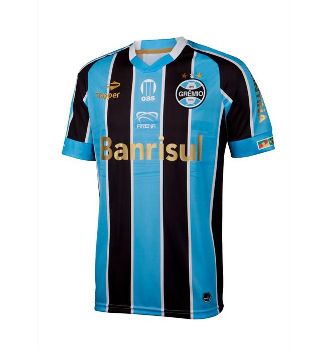 Camisa em homenagem a nova Arena Grêmio