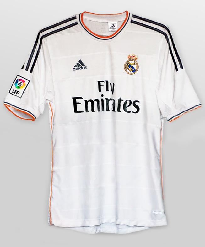Camisa Real Madrid 2013 2014 Adidas