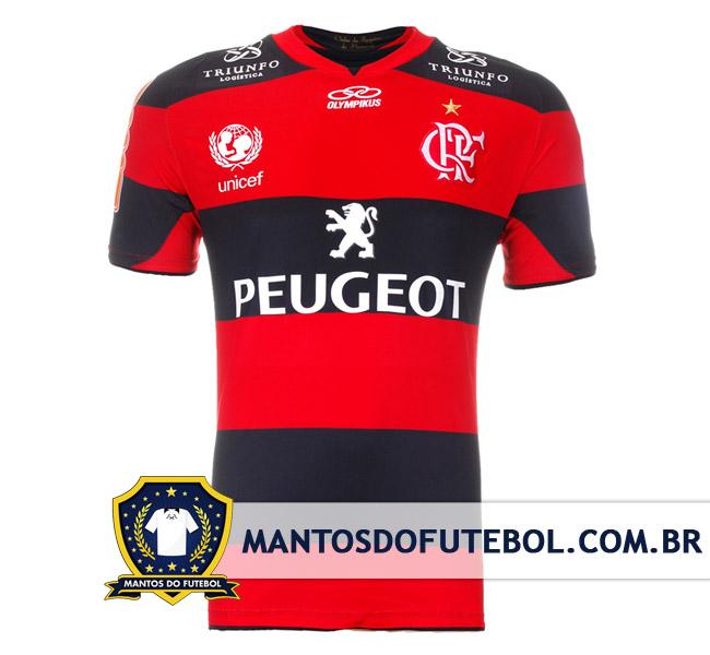 Flamengo Peugeot, 2013, Olympikus, camisa titular
