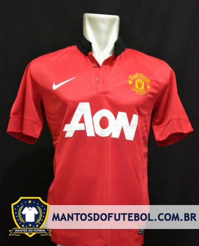 Camisa titular manchester united 2013/2014