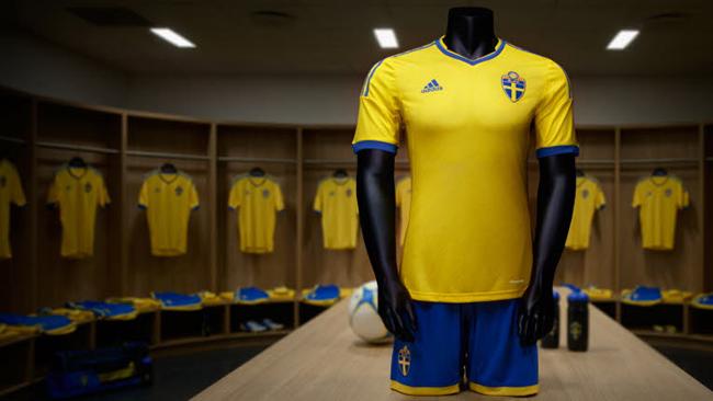 Camisa da Suécia Adidas