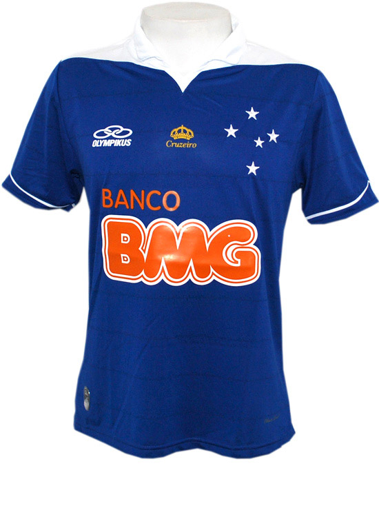 Camisa do Cruzeiro 2013 feita pela Olympikus