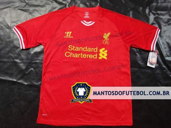 Camisas Liverpool Warrior 2013/2014