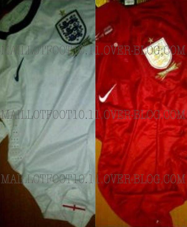 Camisas Inglaterra Nike 2013