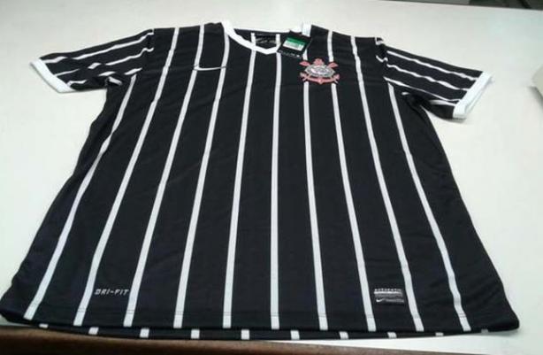 Camisa listrada Corinthians 2013/2014