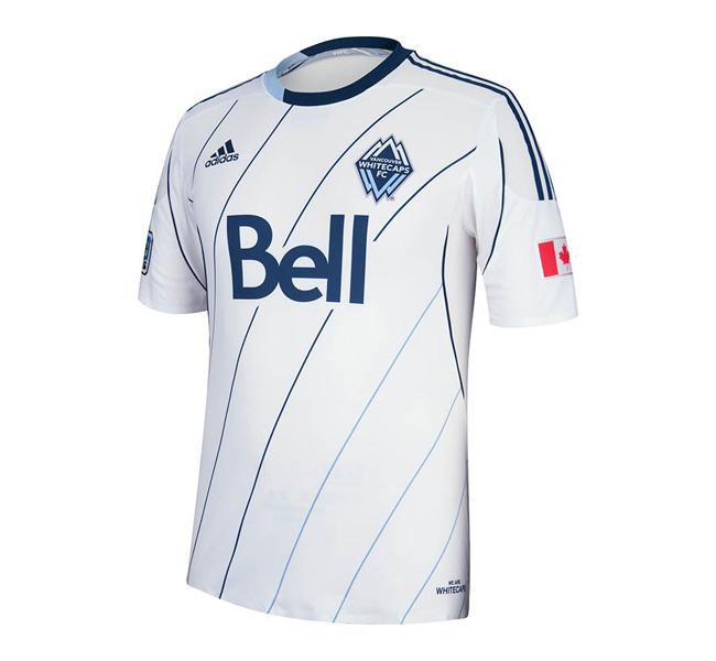 Vancouver Whitecaps 2013, Camisa titular, adidas, mls