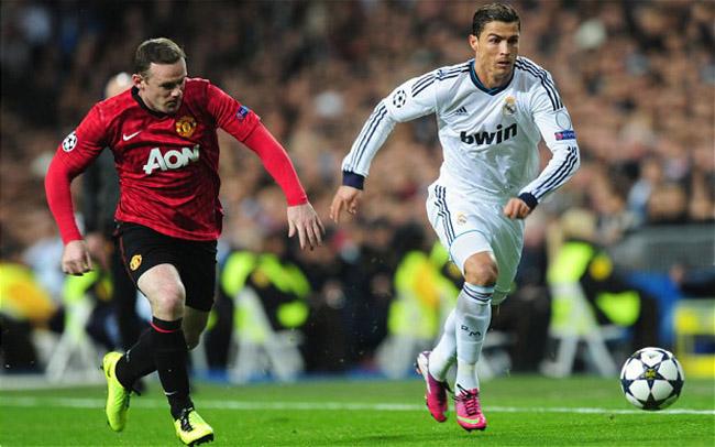Clubes que mais vendem camisas no mundo, Manchester United, Real Madrid