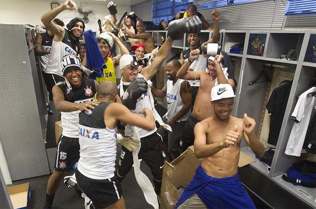 Harlem shake do Corinthians