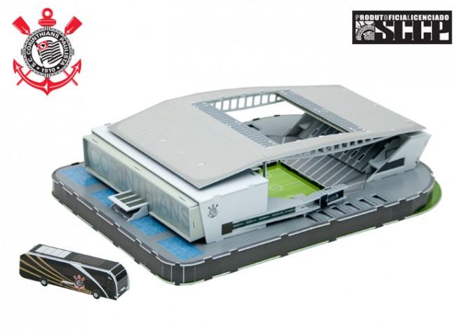 maquete dos estádios brasileiros, Nanostad, Corinthians