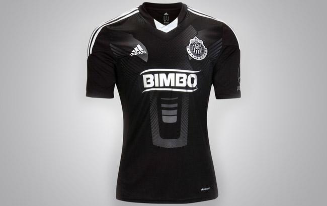 terceira camisa preta do chivas gudalajara 2013