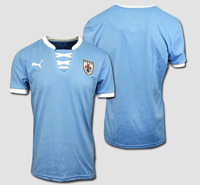 Camisa do Uruguai 2013 Puma