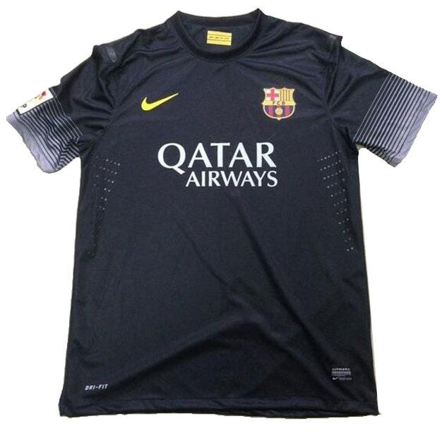 terceira camisa do Barcelona 2013/2014, preta