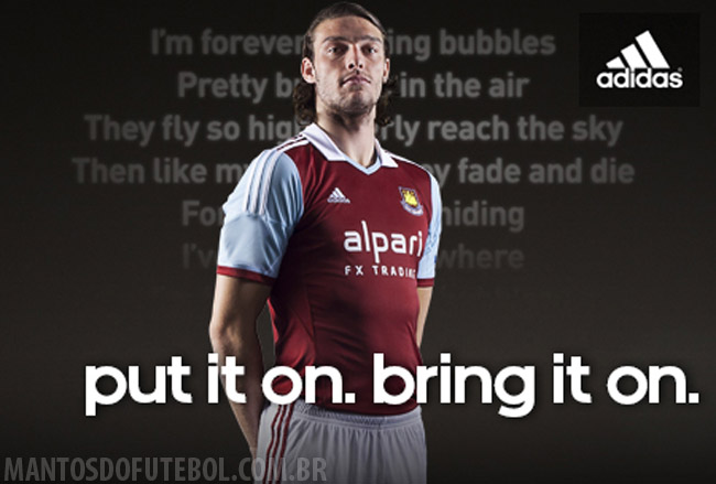 Camisas do West Ham 2013-2014