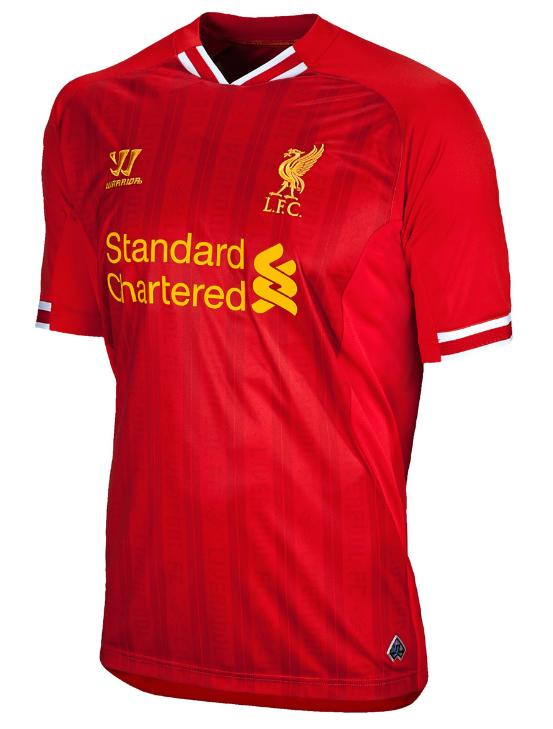 Camisa do Liverpool 2013 Warrior