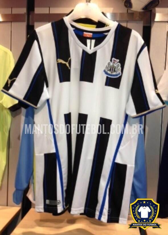 Nova Camisa do Newcastle 2013 Puma