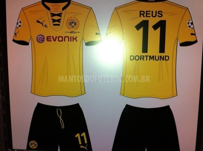 Camisa do Borussia Dortmund Final Champions League 2012/2013