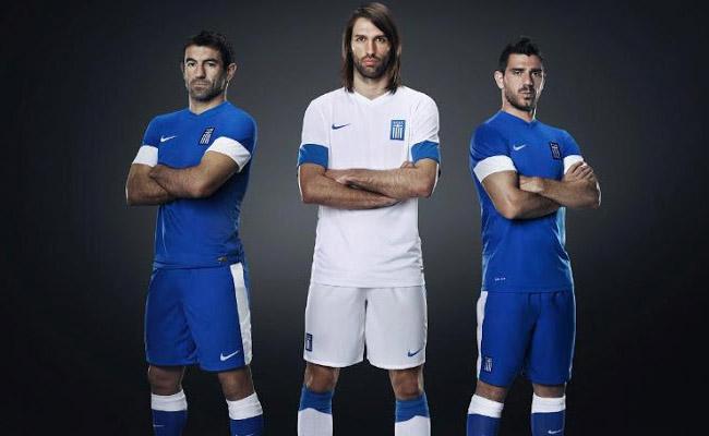 Camisas da Grécia 2013-2014 Nike