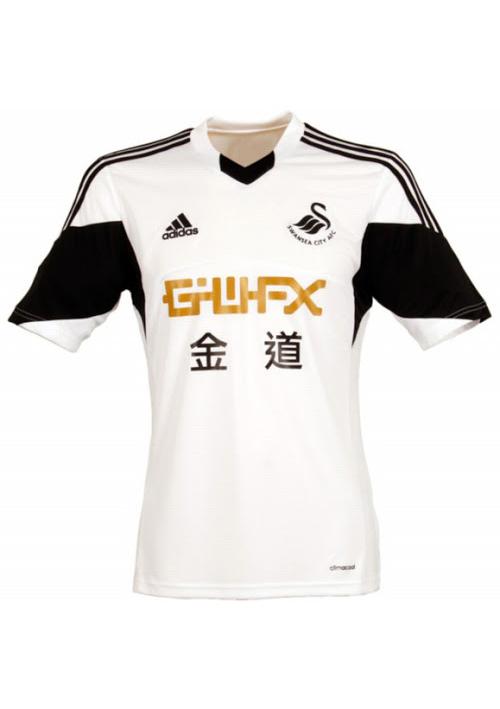 Camisas do Swansea 2013-2014