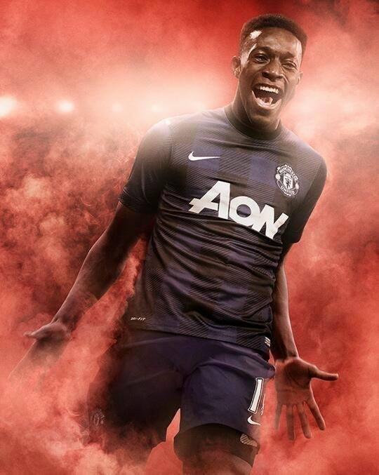 Camisa reserva Manchester United 2013-2014