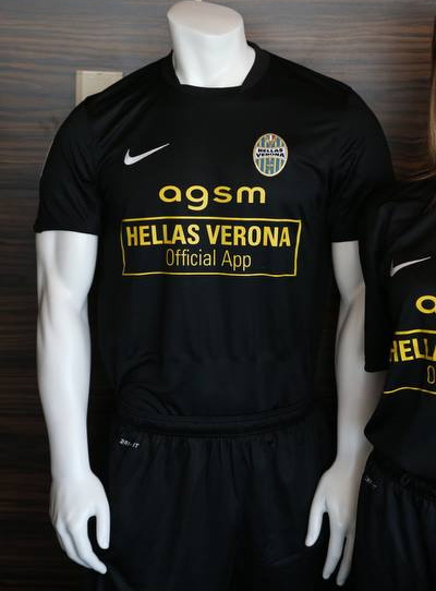 Terceira camisa do Hellas Verona 2013-2014 Nike