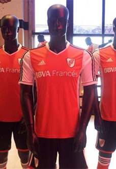 camisa reserva do River Plate 2013-2014