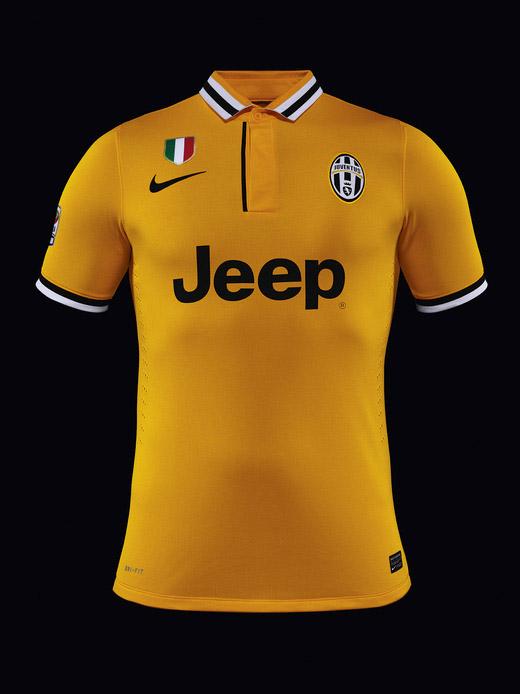 Camisa amarela da Juventus 2013-2014