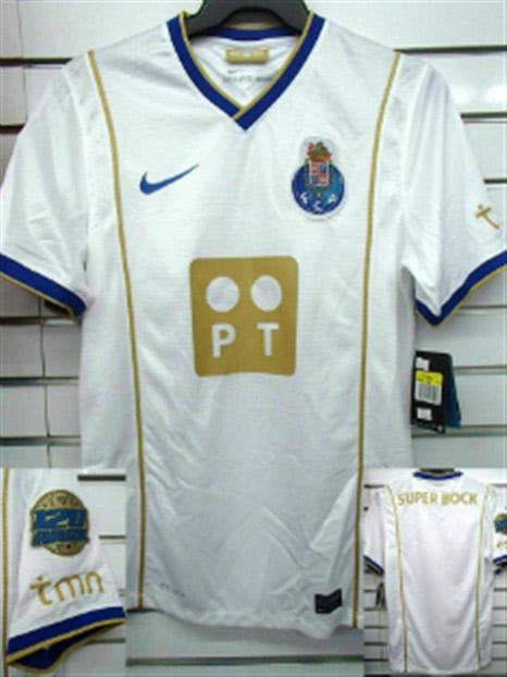 Camisa comemorativa dos 120 anos do Porto