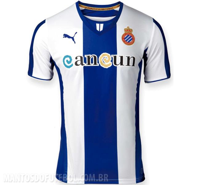 Camisas do Espanyol 2013-2014 Titular