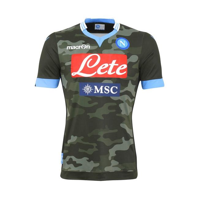 Camisas do Napoli 2013-2014 Camuflada
