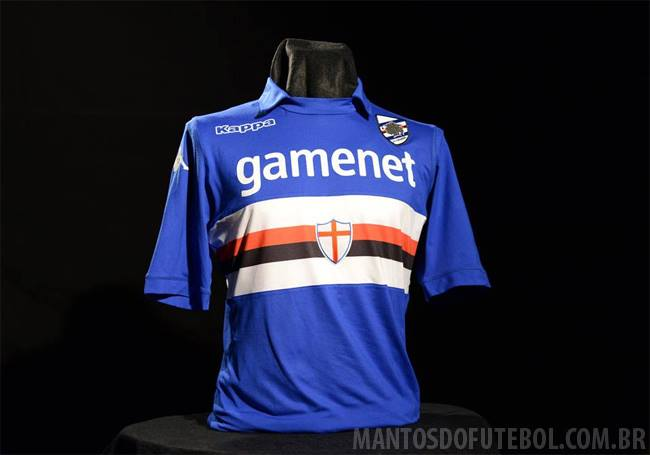 Camisas do Sampdoria 2013-2014 Azul