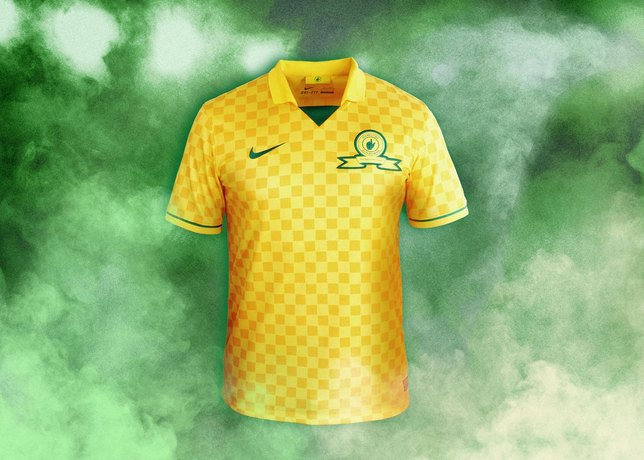 Camisa do Mamelodi Sundowns 2013-2014