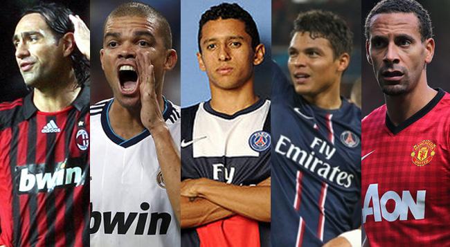 Zagueiros mais caros da história do futebol