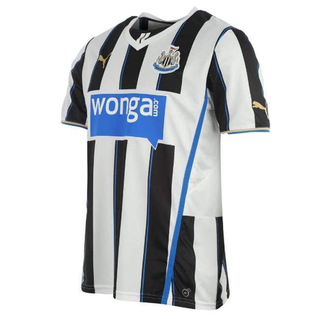 Camisas do Newcastle 2013-2014 titular 2