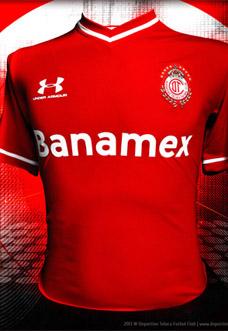 Camisas do Toluca 2013-2014