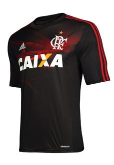 Terceira camisa do Flamengo 2013-2014 Preta capa