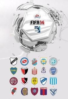 Todas as camisas do Campeonato Argentino no FIFA 14