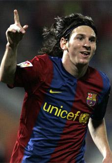 Top 5 - Artilheiros do Barcelona - Messi