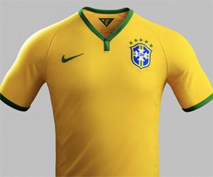 Camisa do Brasil 2014-2015 Copa do Mundo capa