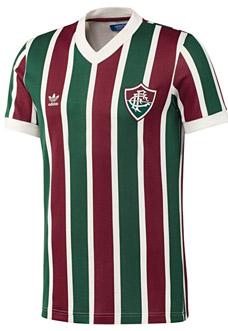 Camisa retrô do Fluminense Adidas Originals capa