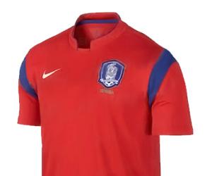 Camisas da Coréia do Sul 2014-2015 Copa do Mundo Capa