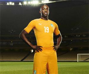 Camisas da Costa do Marfim 2014-2015 Copa do Mundo Capa