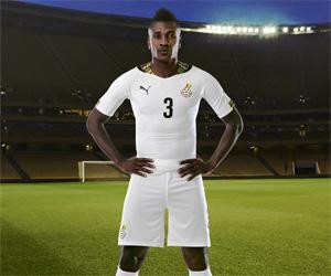 Camisas de Gana 2014-2015 Copa do Mundo capa